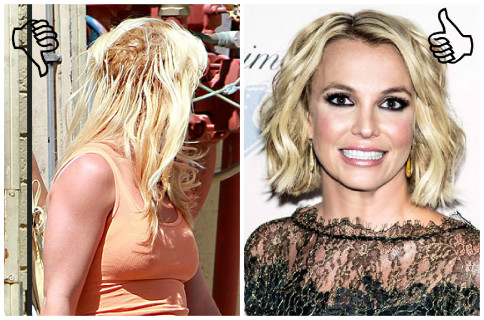 britney spears bad hair