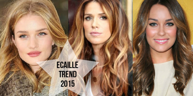 Ecaille Tartarugato: La nuova tendenza capelli 2015 [FOTO E VIDEO TUTORIAL]