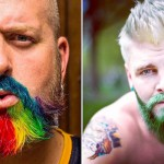Rainbow Beard: colorare la barba è il nuovo trend - FOTO GALLERY