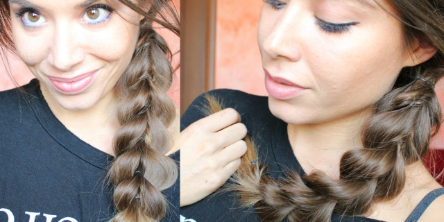 Big Loop Braid ► Finta  Treccia Cicciottosa!