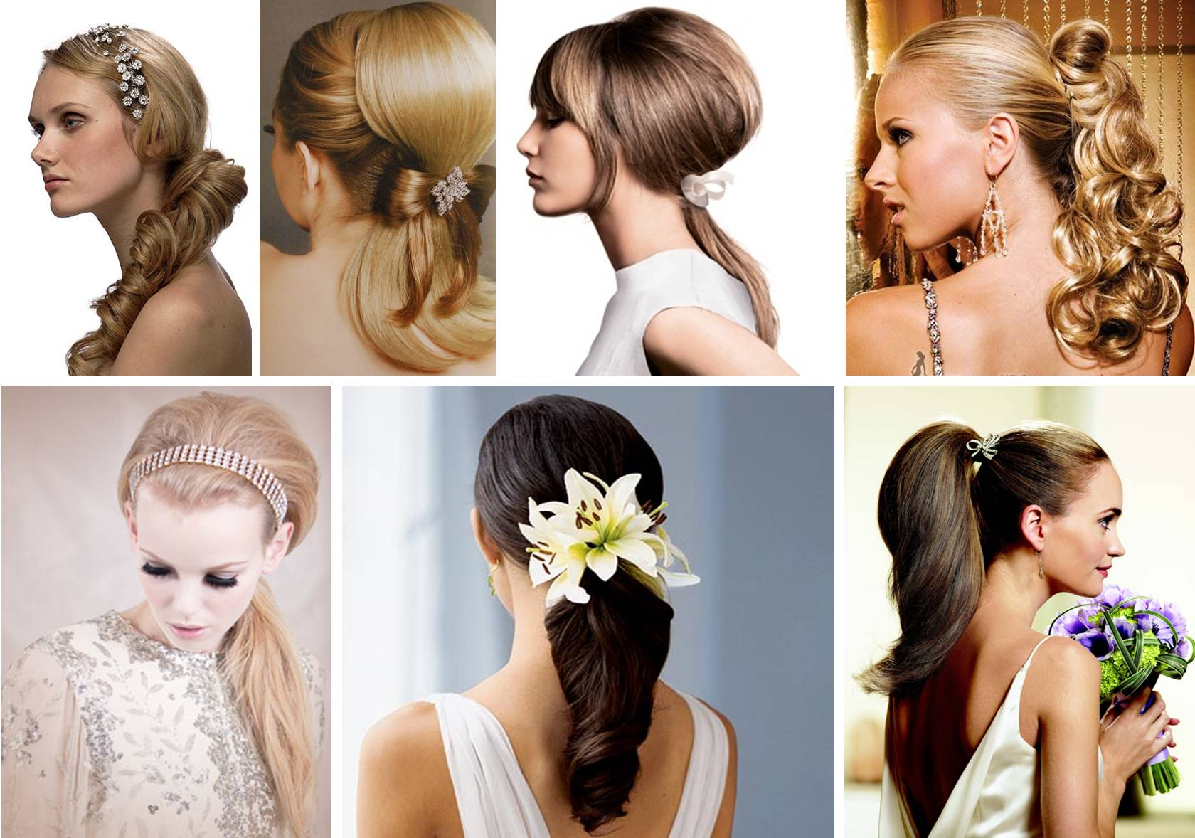 brides-ponytail