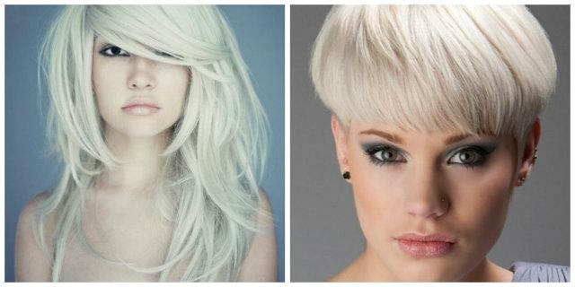 capelli biondo platino