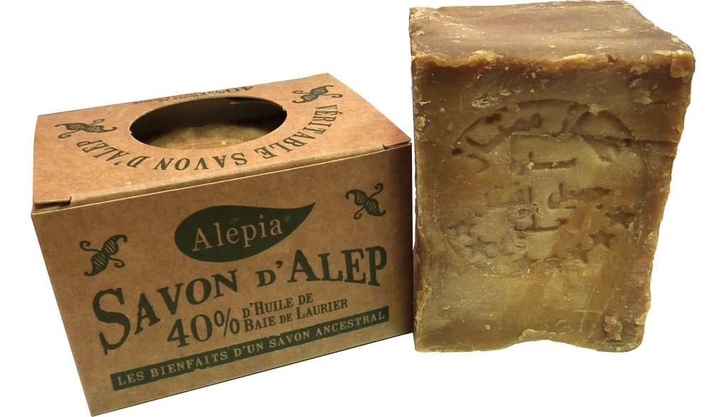 gli usi del sapone di Aleppo