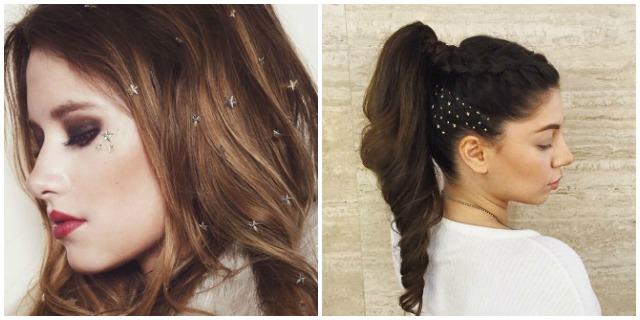 Hair gems stelle