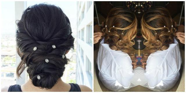 Hair gems matrimoni