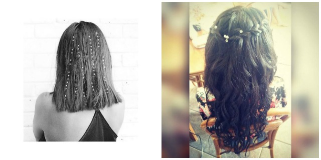 Nuovo trend per i vostri capelli: le hair gems