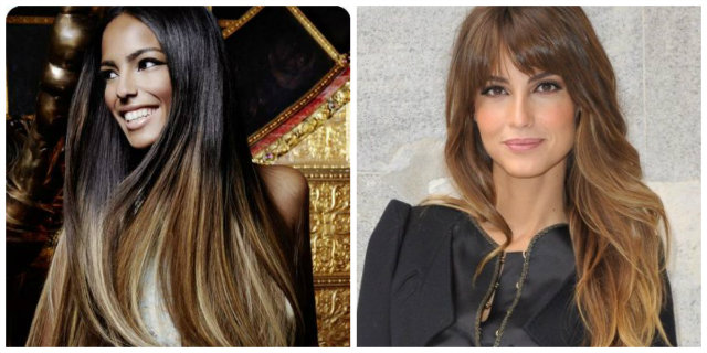 balayage shatush differenza