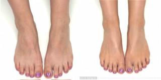 contouring piede