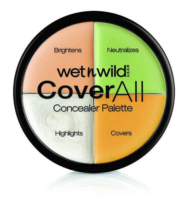 Wet n Wild CoverAll concealer palette by Markwins Italia
