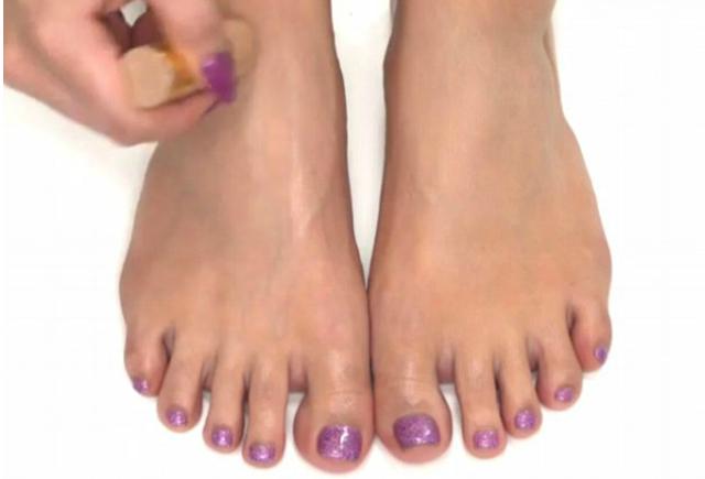 contouring piedi