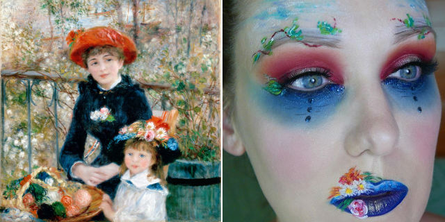 Make-Up Ispirati A Quadri Famosi
