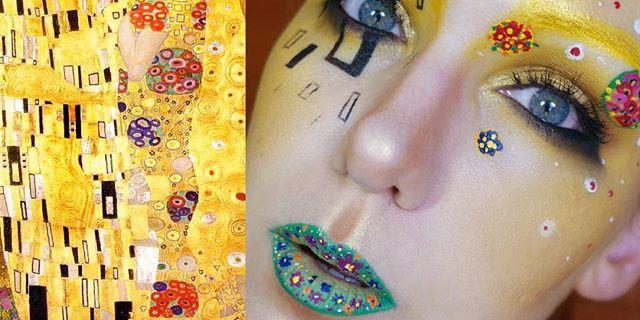 Dalla Tela Al Volto: Meravigliosi Make-Up Ispirati A Celebri Dipinti