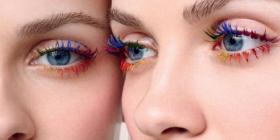 Spopola una Nuova Tendenza per il Trucco Occhi: Ecco le Rainbow Lashes!