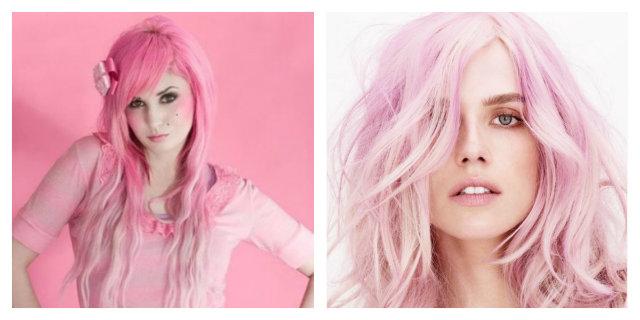 Capelli rosa: l'ultima tendenza dell'estate