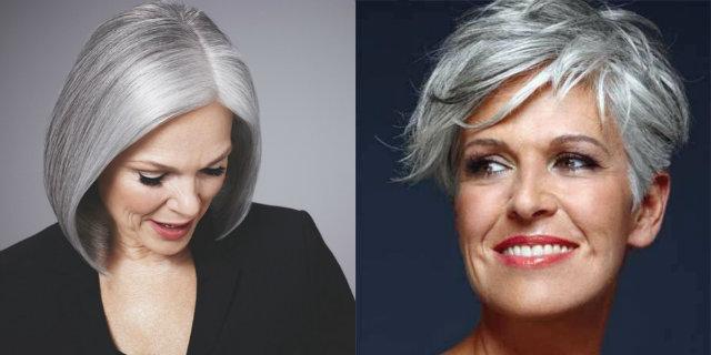 Come fare un colore grigio sui capelli