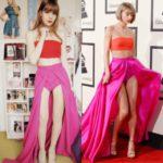 Questa ragazza ricrea gli outfit di Taylor Swift così bene, che anche la cantante ci si riconosce!