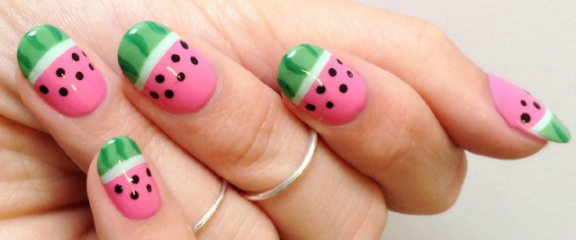 nail art anguria