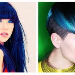 Capelli blu: la moda del momento in tutte le sue tonalità