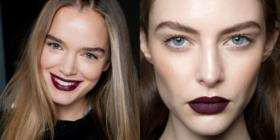 Come portare e abbinare il rossetto scuro