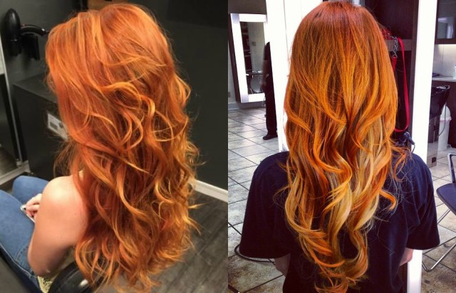 Capelli autunno 2016: Pumpkin Spice e Rose Gold