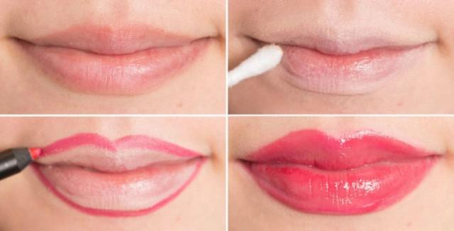 trucchi per far sembrare più piene le vostre labbra