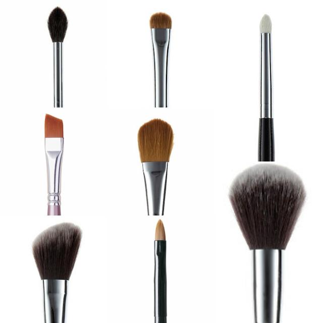 Porta pennelli make-up