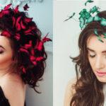 Queste corone ti permettono di realizzare fantastiche acconciature con le farfalle
