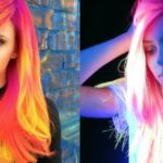 Phoenix Glow-in-the-Dark Hair Dye, il trend capelli come neon