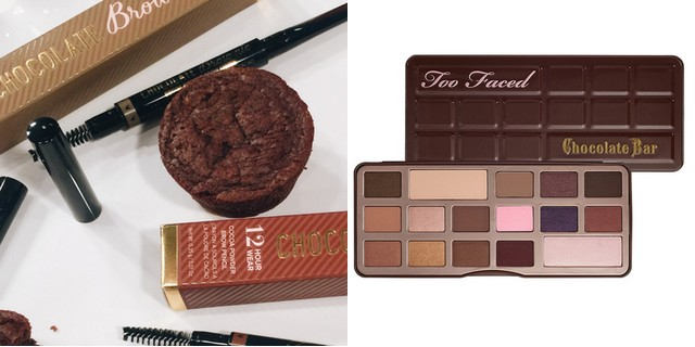 Too Faced chocolatebar e matita brownie