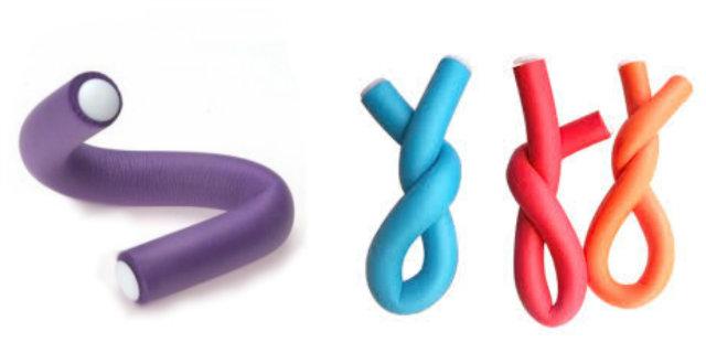 Bigodini flessibili: come utilizzarli per ricci e onde perfette