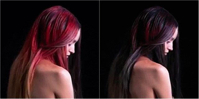 Fire, il colore dei capelli che cambia con la temperatura