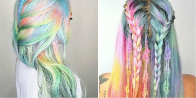 Unicorn Hair, tinte da mischiare per capelli unicorno personalizzati