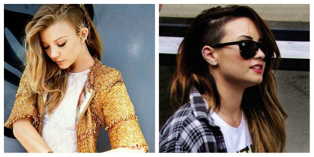 A chi stanno bene i capelli rasati da un lato