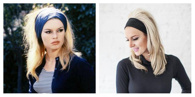 Fascia per capelli: l'accessorio tornato di moda
