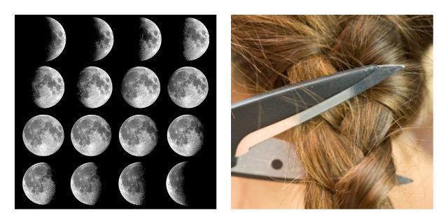 fasi lunari capelli ogni quanto tagliare la chioma