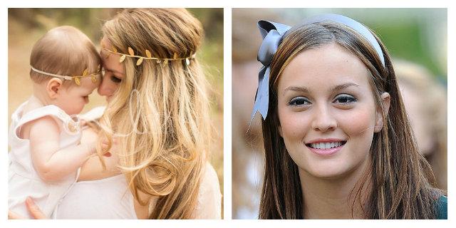 Cerchietto per capelli: da accessorio per bambine a dettagli sexy chic
