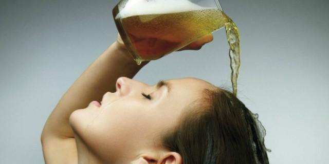 lavare i capelli con la birra