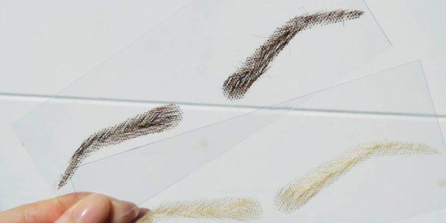 Parrucca per sopracciglia