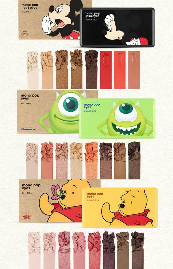 Palette occhi The Face Shop Disney