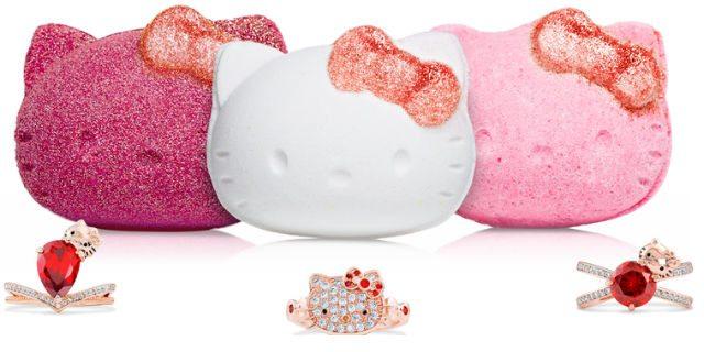 Tutte pazze per le bombe da bagno Hello Kitty