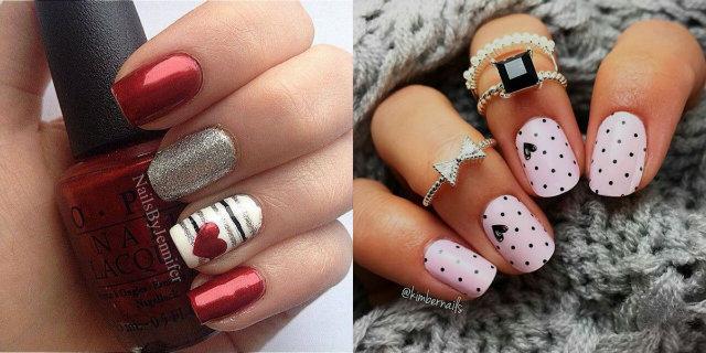 3 nail art per San Valentino per essere elegante il 14 febbraio
