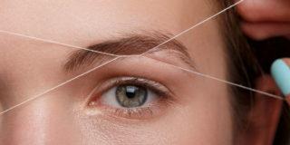 depilazione a filo orientale