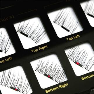L' applicazione delle ciglia magnetiche