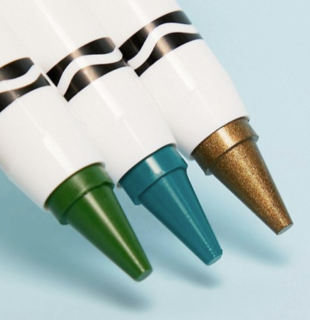 Le matite Crayola diventano trucchi