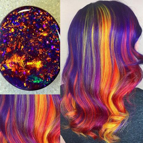 Crystal Hair trend: 11 colori per capelli ispirati ai cristalli