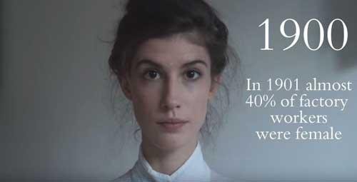 La bellezza delle donne attraverso i decenni e gli avvenimenti storici