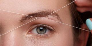 depilazione sopracciglia filo
