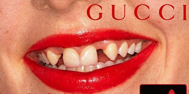 Di chi è la bocca della nuova campagna Gucci e perché è bellissima