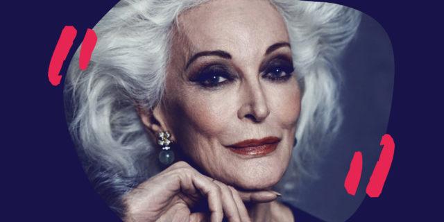 L'incredibile bellezza da 88enne di Carmen Dell'Orefice e quel pensiero sulla morte