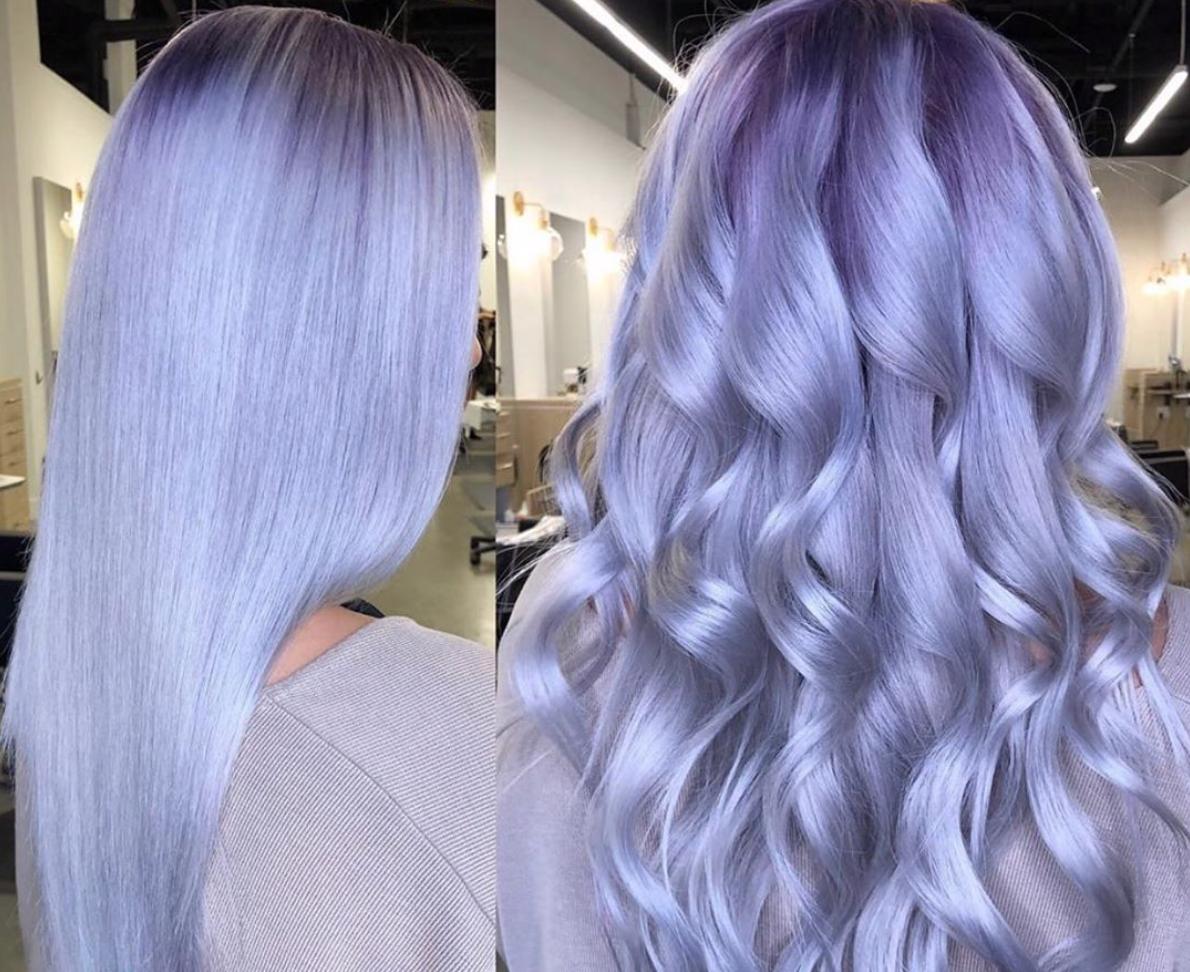 Lilac e lavander hair: capelli come fiori di lavanda e lillà